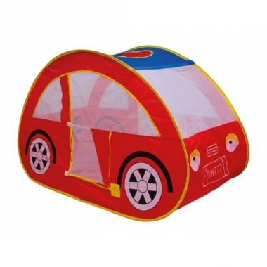 Rode auto ballenbak tent