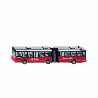 Rode bus voor kinderen