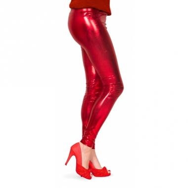 Rode dames legging