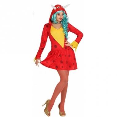 Rode draak jurkjes voor vrouwen
