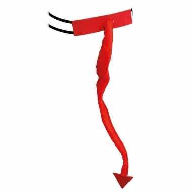 Rode duivel staart voor volwassen