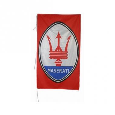 Rode garage vlag maserati