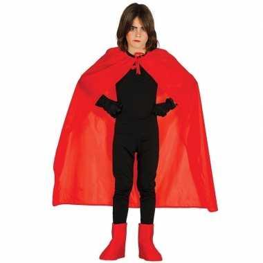 Rode halloween verkleedcape voor kinderen