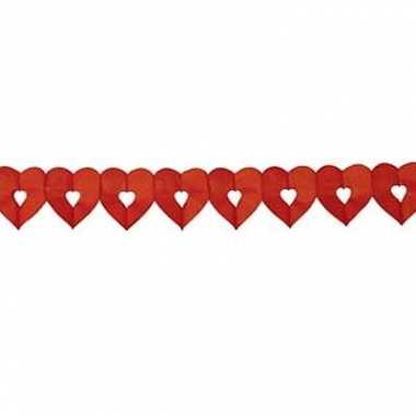 Rode harten slinger 6 meter