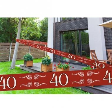 Rode markeerlinten 40 15 meter