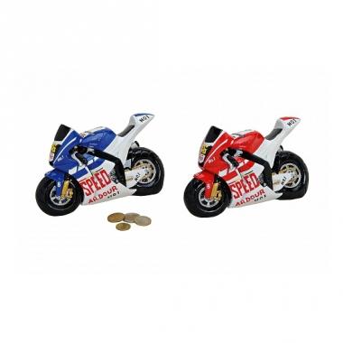 Rode motor spaarpot