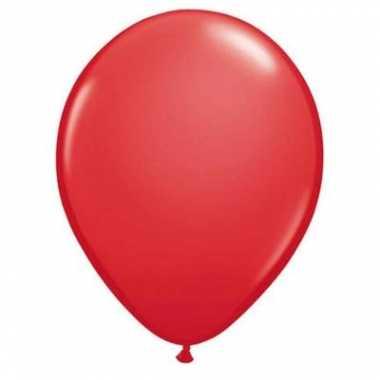 Rode qualatex ballonnen