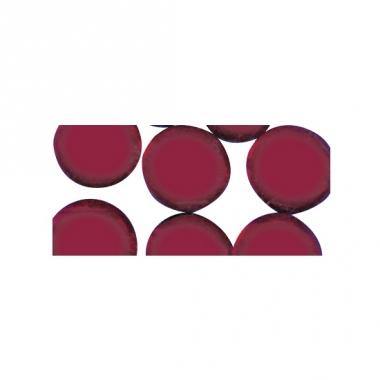 Rode ronde mozaiek