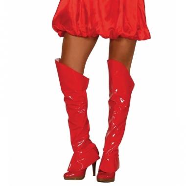 Rode sexy hoezen voor boven pumps