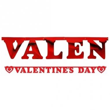 Rode valentijnsdag wensslinger