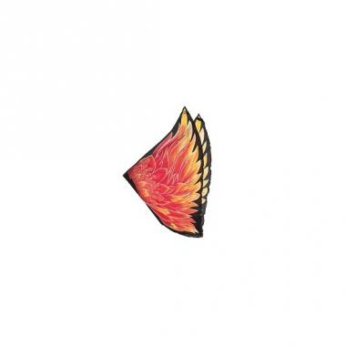 Rode vlammen vleugels