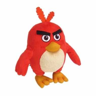 Rode vogels dierenknuffel angry birds 20 cm