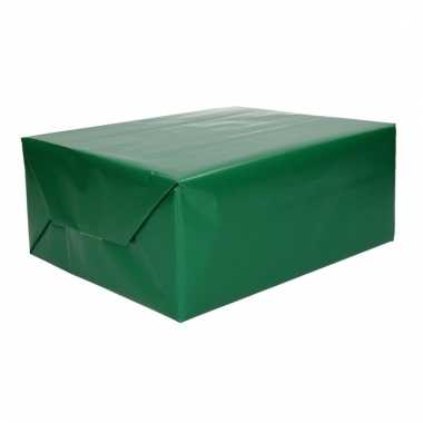 Rol cadeaupapier groen 70 x 200 cm