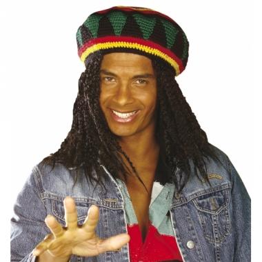 Ronde reggae bob muts