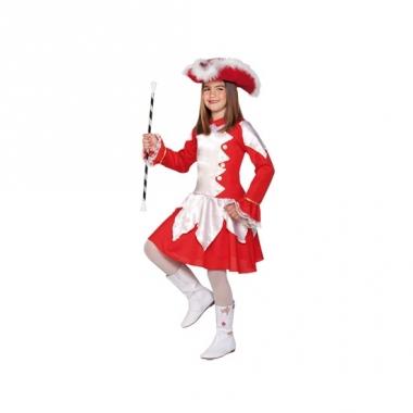 Rood cheerleader kostuum voor meisjes