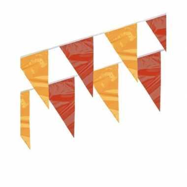 Rood gele vlaggenlijn 4 meter