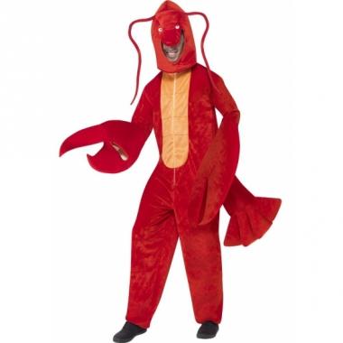 Rood kreeften kostuum luxe