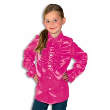 df46e83ae908af Roze disco blouse rouches blouse roze voor jongens