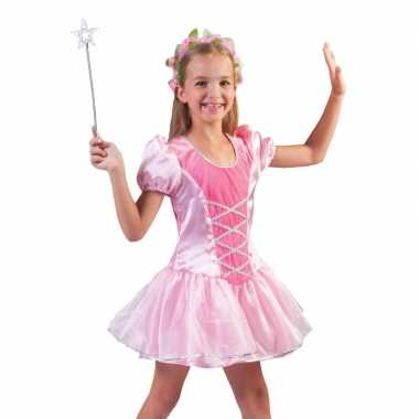 Roze prinsessen verkleed jurkje voor meisjes