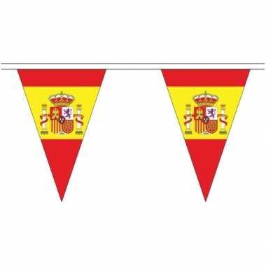 Spanje landen punt vlaggetjes 5 meter