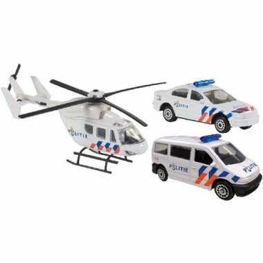 Speelgoed 112 politie set 3-delig