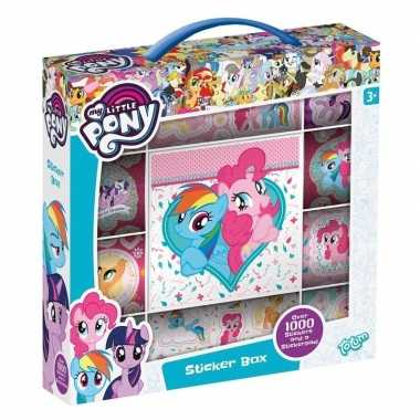 Stickerbox my little pony 1000 stickers