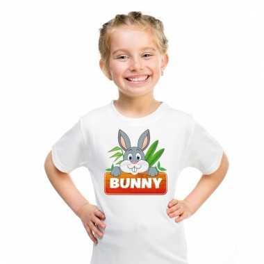 T-shirt voor kinderen met bunny het konijn