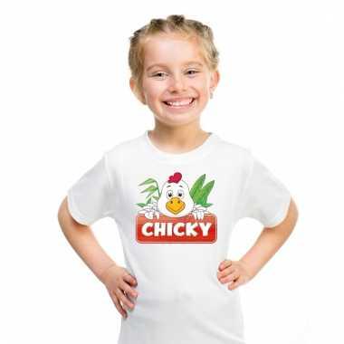 T-shirt voor kinderen met chicky de kip