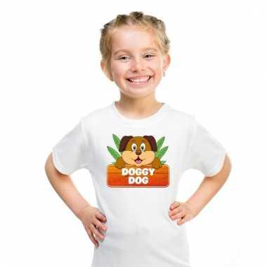 T-shirt voor kinderen met doggy dog de hond
