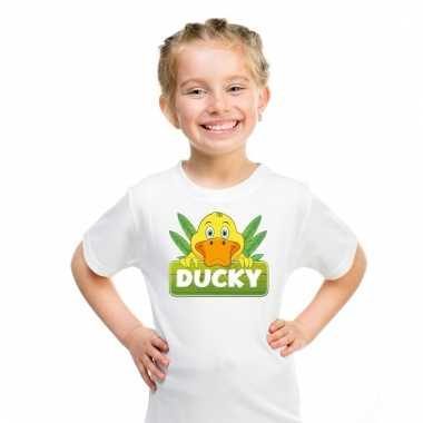 T-shirt voor kinderen met ducky de eend