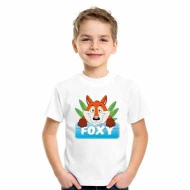 T-shirt voor kinderen met foxy de vos