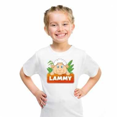 T-shirt voor kinderen met lammy het schaapje