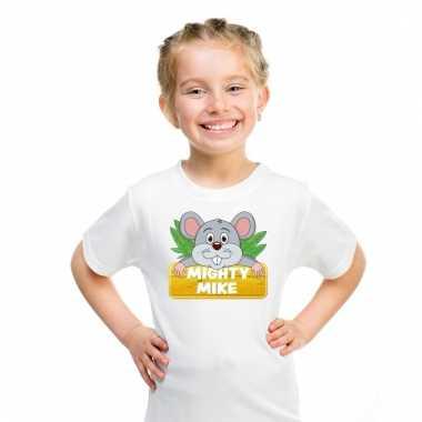 T-shirt voor kinderen met muisje mighty mike