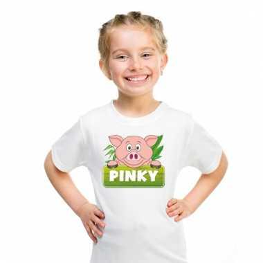 T-shirt voor kinderen met pinky de big