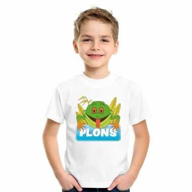 T-shirt voor kinderen met plons de kikker