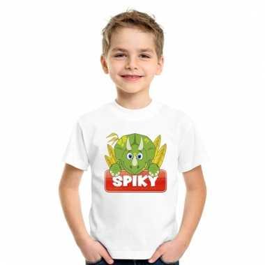 T-shirt voor kinderen met spiky de dinosaurus