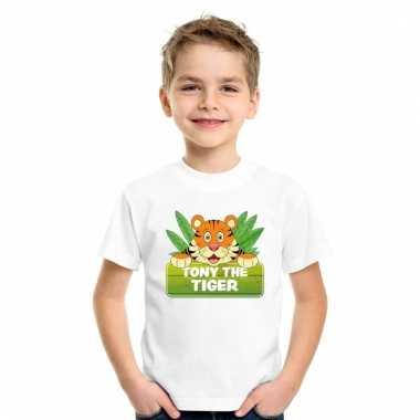 T-shirt voor kinderen met tony the tiger
