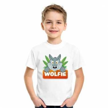 T-shirt voor kinderen met wolfie de wolf