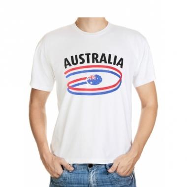 T-shirts met australie opdruk volwassenen