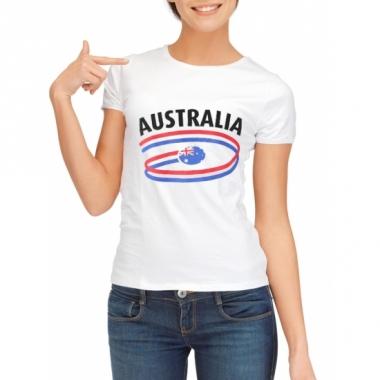 T-shirts met australie opdruk voor dames
