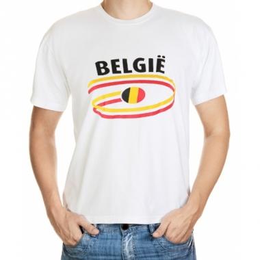 T-shirts met belgie opdruk volwassenen