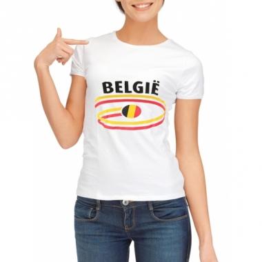 T-shirts met belgie opdruk voor dames