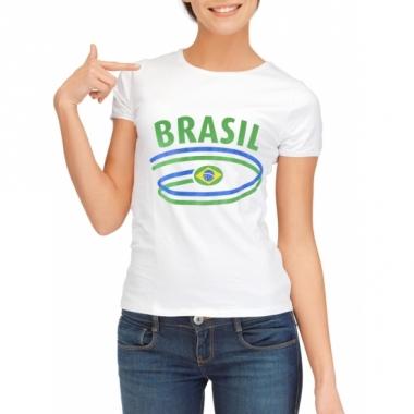 T-shirts met brasil opdruk voor dames