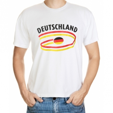 T-shirts met duitsland opdruk heren