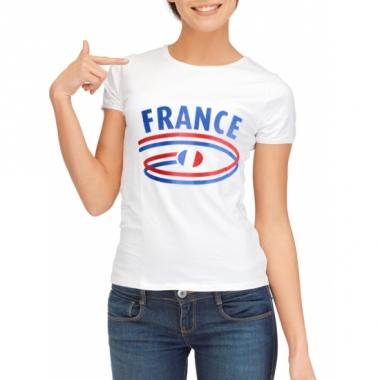T-shirts met france opdruk voor dames