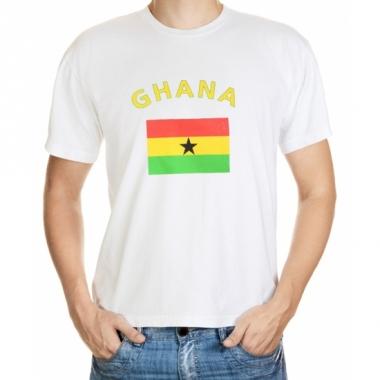 T-shirts met ghanese vlag