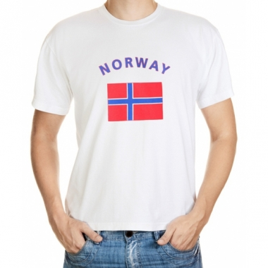 T-shirts met noorse vlag