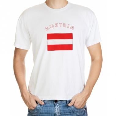 T-shirts met oostenrijkse vlag