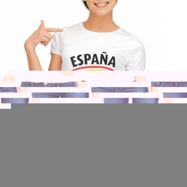 T-shirts met spanje opdruk voor dames