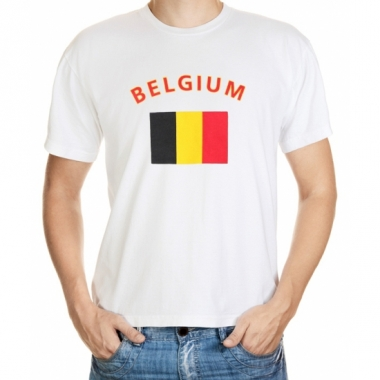 T-shirts van vlag belgie